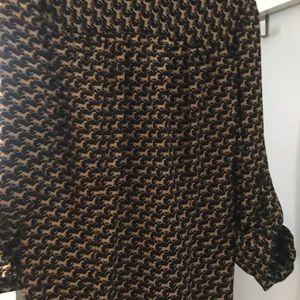 JB by Julie Brown Dresses - Horse print shirtdress
